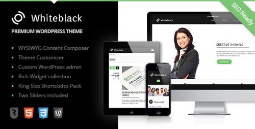 WhiteBlack - Premium Business WP Theme