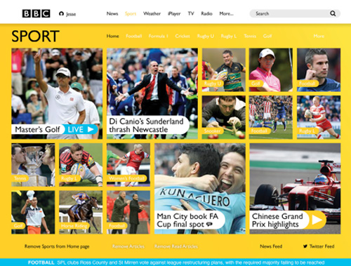 BBC Sport Re-Imagined