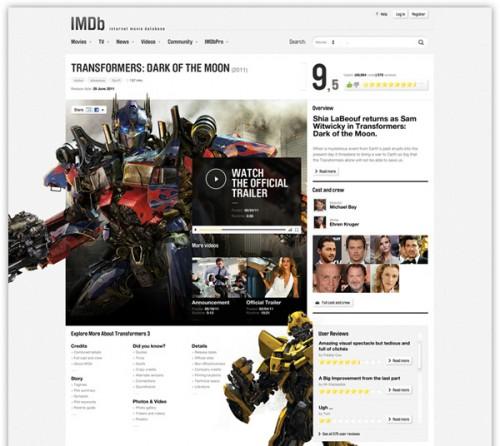 IMDb Redesign Concept