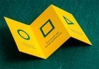 22 Awe-Inspiring Folded Business Card Designs