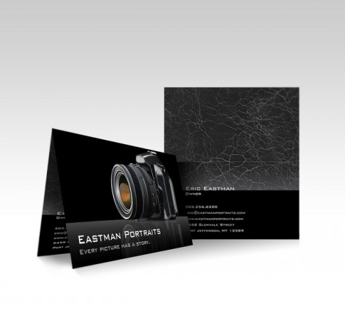 Vistaprint Folded Business Card - Camera