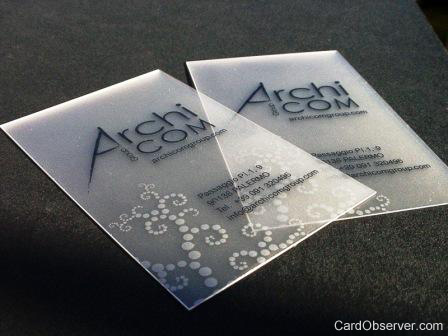 ArchiCom Business Card