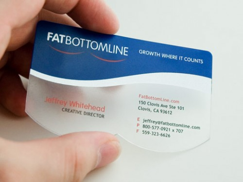 FatBottomLine Business Card