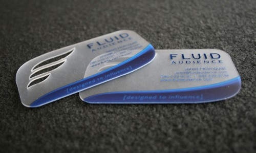 Fluid Business Card