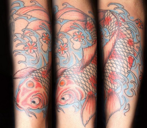 Best Koi Fish Tattoo Art