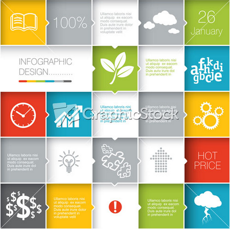 Stock Graphics for use of Technology