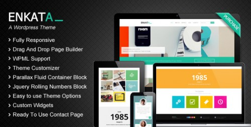 Enkata - Responsive WordPress CMS Theme