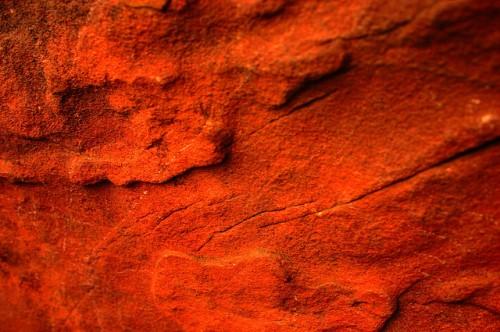 Orange Rock Texture