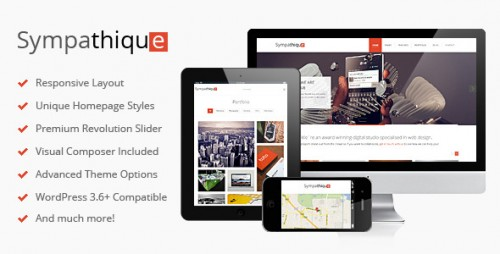 Sympathique - Responsive WordPress Theme