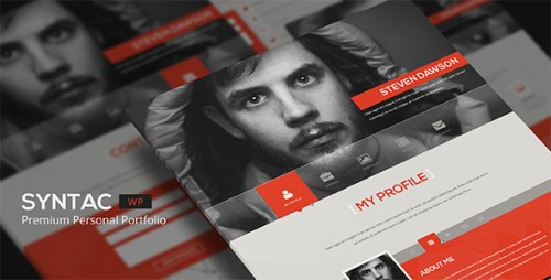 Syntac -Wordpress Personal Portfolio Theme