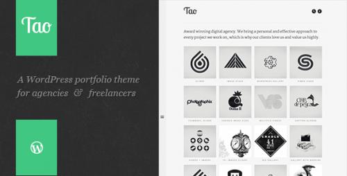 Tao - Retina & Responsive WP Portfolio Theme