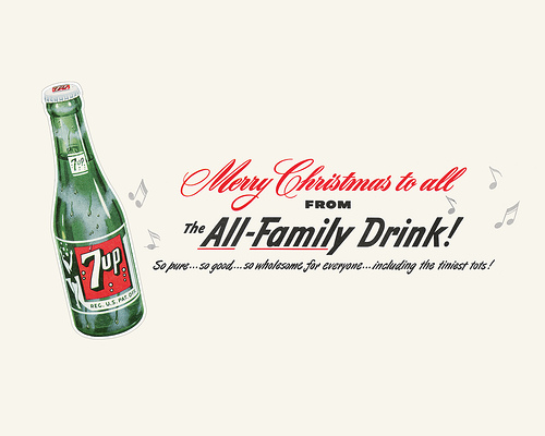 Vintage 7up Desktop Wallpaper
