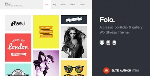 Folo - Premium Responsive Portfolio Theme