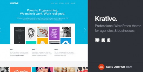 Krative - Responsive Business Theme
