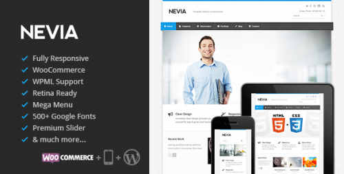 Nevia - Responsive WordPress Theme