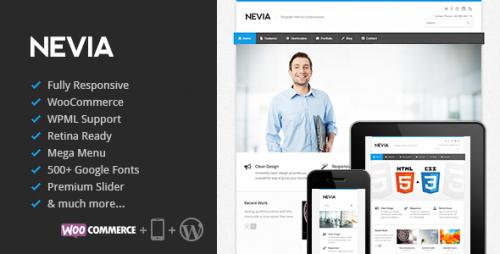 Nevia - Responsive WordPress Theme