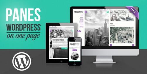 Panes - WordPress on One Page Theme