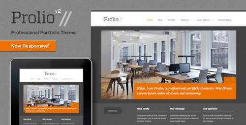 Prolio, Powerful Portfolio WordPress Theme