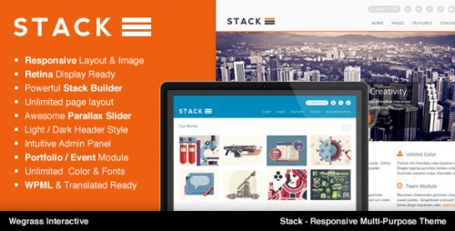 Stack - Responsive Multi-Purpose Theme
