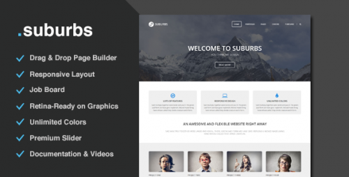 Suburbs - Multi-Purpose Responsive Theme