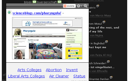 WP Social Blogroll