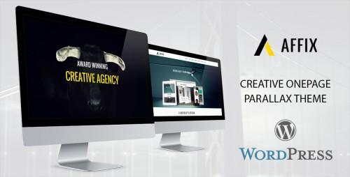 Affix - Creative OnePage Parallax Theme