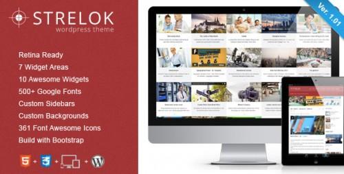 Strelok - Retina Responsive WP Blog Theme