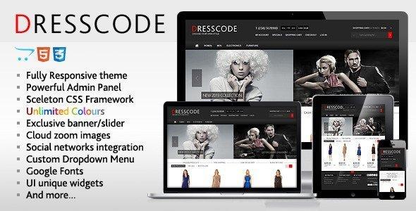 A Showcase of 13 Premium Fashion Themes