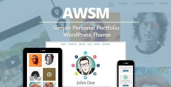 20 Clean and Simple Premium Themes for WordPress