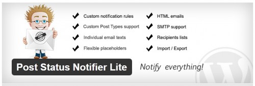 Post Status Notifier Lite