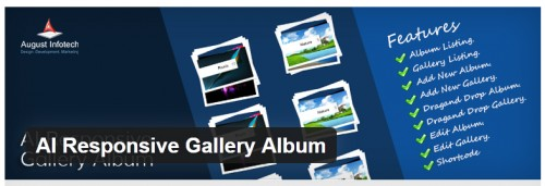 AI Responsive Gallery Album