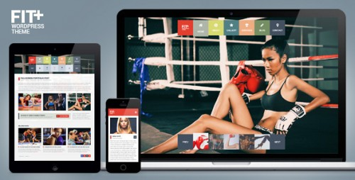 Fit+ Multipurpose Sports WordPress Theme