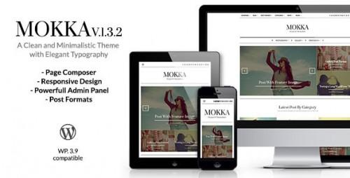 Mokka - Minimal & Elegant WordPress Blog Theme