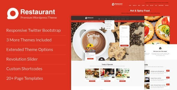 A Roundup of Cool Chef WordPress Premium Themes