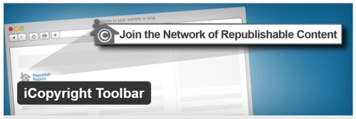 iCopyright Toolbar