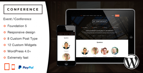 Conference - WordPress Theme