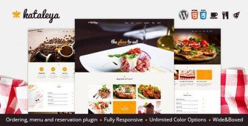 Kataleya - Restaurant Pizza Coffee WordPress Theme