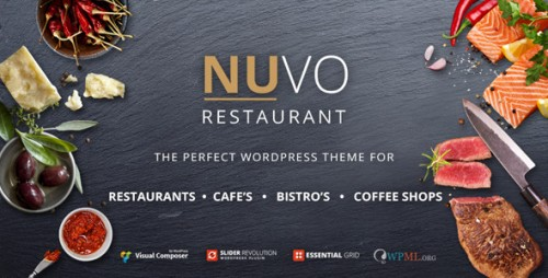 NUVO - Restaurant, Cafe & Bistro WordPress Theme
