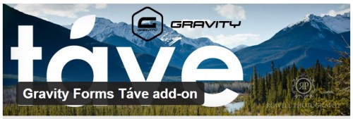Gravity Forms Tave add-on