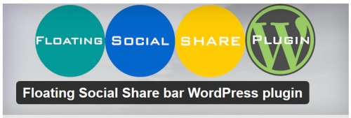 Floating Social Share Bar