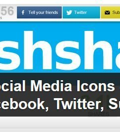 8 Must Have Free Social Media Sharing WordPress Widgets