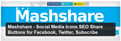 Mashshare - Social Media Icons SEO Share