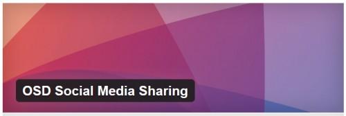 OSD Social Media Sharing