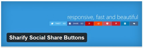 Sharify Social Share Buttons