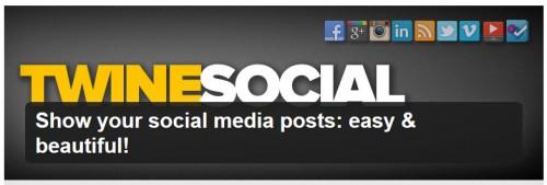 Show Your Social Media Posts