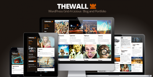 TheWall - Grid A Licious Blog and Portfolio Theme