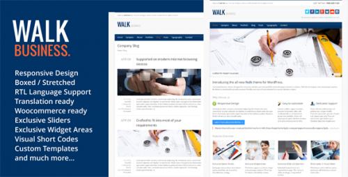 Walk - Responsive Business WordPress Theme