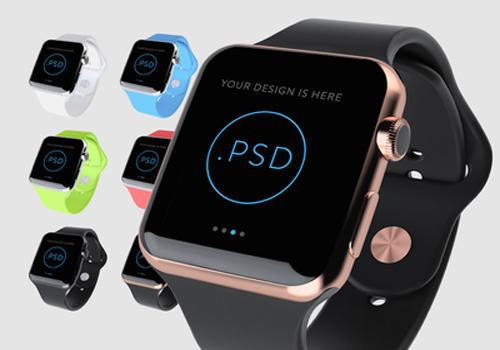 Amazing Apple Watch Free PSD