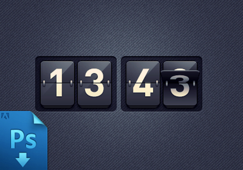Free Clock PSD To Download