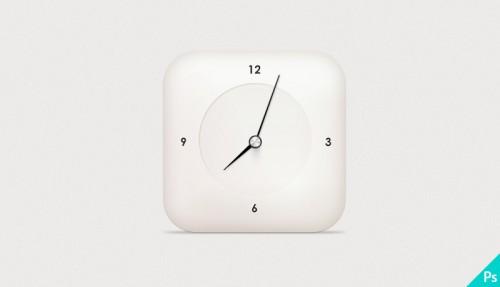 Freebie - Modern Clock